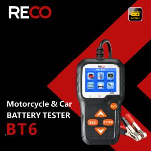 Opakowanie tetera akumulatorów samochodowych RECO BT6